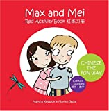 Max and Mei Red Activity Book - Colours and Numbers (Adventures of Max & Mei)