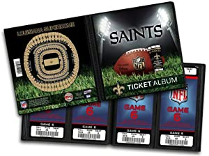 NFL New Orleans Saints Ticket Album by That
