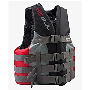 Gul Impact Vest - Black/Red, Small