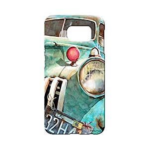BLUEDIO Designer 3D Printed Back case cover for Samsung Galaxy S7 - G2603
