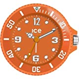 Ice-Clock 90 mm Travel Alarm Clock, Orange