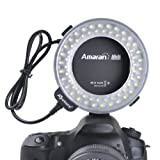 Aputure Amaran Halo AHL-N60 Macro Ring Flash Light 60 LED for Nikon DLSR Cameras