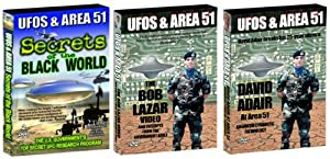 UFOs and Area 51: Secrets of the Black World, 4 DVD Collector's Edition