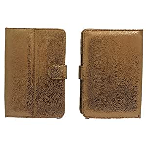 Jo Jo G5 Bling Flip Flap Case Cover Pouch Carry For Lenovo Ideatab A2107 8Gb Wi-Fi Only Light Brown