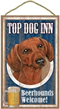 Dachshund (Red) Top Dog Inn Beerhounds Welcome!