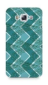 Amez designer printed 3d premium high quality back case cover for Samsung Galaxy E7 (Roughness line light texture)