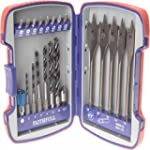 Faithfull Woodworkers Drill Bit Set 2...