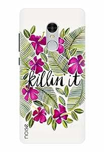 Noise Designer Printed Case / Cover for Xiaomi Redmi Note 4 / Nature / Killin It Design