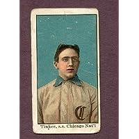 1909-11 E90-1 American Caramel Joe Tinker Cubs VG 132512 Kit Young Cards