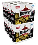 Brawny Regular Rolls, Pick-A-Size, White