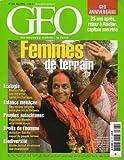 Géo n° 303 - mai 2004 - Femmes de terrain/25 ans après, retour à Abidjan, capitale meurtrie