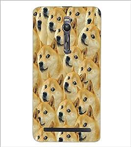 ASUS ZENFONE 2 ANIMALS Designer Back Cover Case By PRINTSWAG