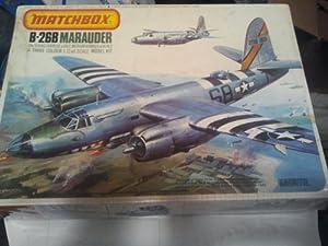 Matchbox B-26B Maurauder 1:72 Scale # Color Model Kit