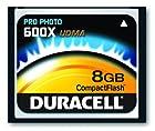 Duracell High Speed 8 GB 600X USB 2.0 Compact Flash Card Card UDMA DU-CF6008G-C