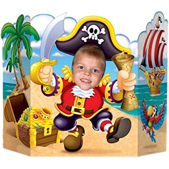 Click to buy Pirate Birthday Party Ideas: Pirate Photo Cut-Out from Amazon!