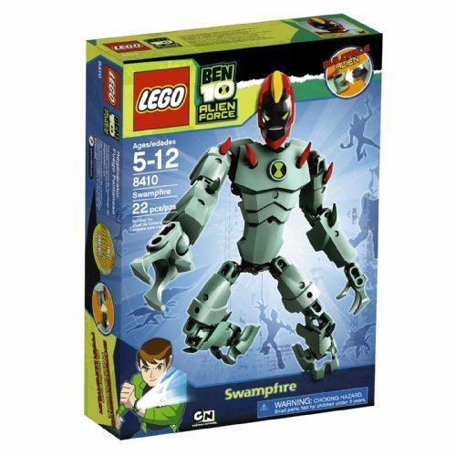 Lego Ben 10 Alien Force Swampfire (8410) By Lego Picture