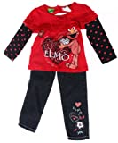 "Elmo Baby-Girls Toddler Girls 2pc Set ""Elmo Loves You"""