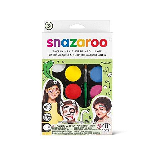 Snazaroo - Paleta de pintura facial unisex (1180102)
