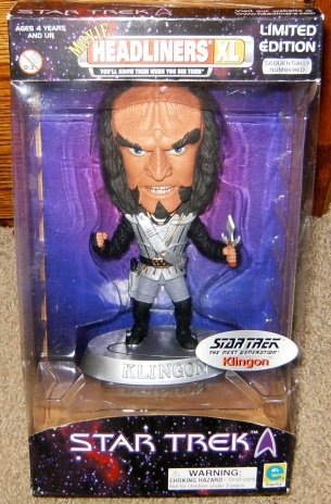 Star Trek Movie Headliners Klingon Action Figure