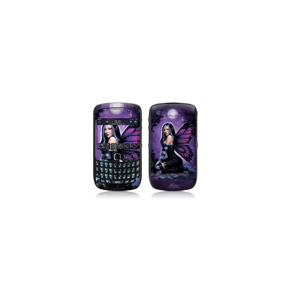 Night Fairy Design Skin Decal Sticker for Blackberry Curve 8500 8520 8530 Cell Phone