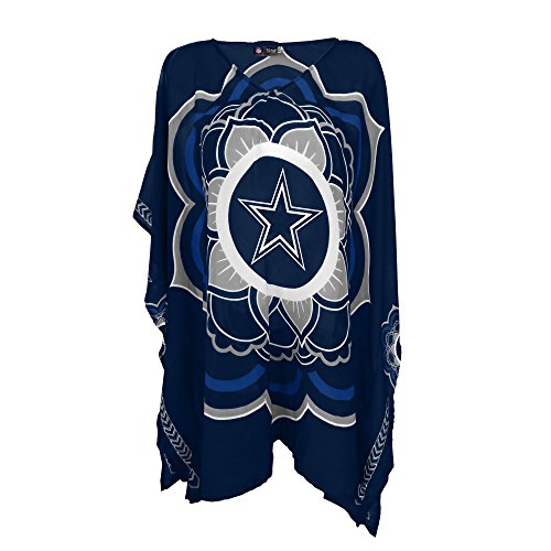 nfl-dallas-cowboys-womens-nfl-caftan-blue-one-size-fits-most