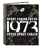 Lotto - Carpeta anillas con lomo ancho, diseño Italia (Safta 511520657)