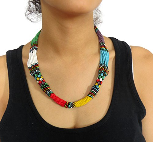collier-en-perles-sud-africain-zoulou-multicolore-avec-violet