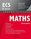 echange, troc Sylvain Rondy, Pierre Berlandi, Gianfranco Niffoi, Anne-Sophie Pierson-Fertel, Nicolas Pierson - Maths ECS 2e Année Programme 2014