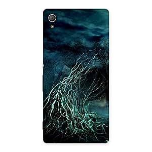 Impressive Horror Tree Multicolor Back Case Cover for Xperia Z4