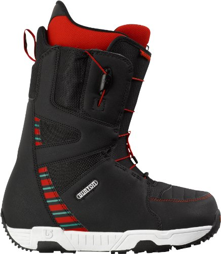 Burton Herren Boot Moto, black/white/multi, 6.0, 275292
