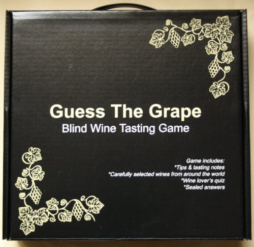 Award Winning Corks & Cases Wine Tasting Game - Guess The Grape (Mixed Wines) - The Perfect Wine Gift! From 10 to 14.5% alcohol content volume.