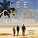 Second Son: A Jack Reacher Short Story (       UNABRIDGED) by Lee Child Narrated by Kerry Shale