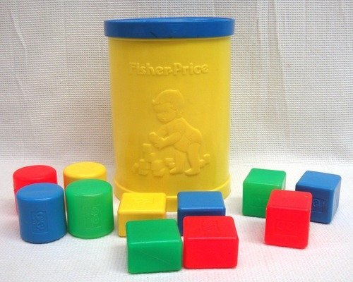 Vintage Fisher Price Shape sorter - 1