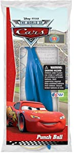 Disney Cars Assorted Color Punch Balls - Pack of 12