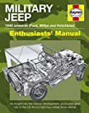 Haynes Book Military Jeep Manual An insight into the history, development, production and role of the US Armys light four-wheel-drive Including an AA Microfibre Magic Mitt