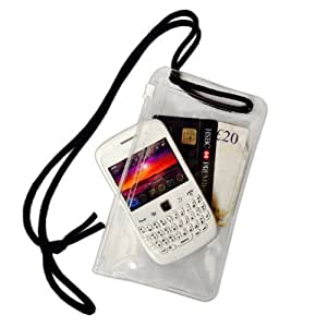 móvil DryPac / bolsa con correa de cuello: Health & Personal Care