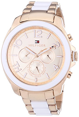 Tommy Hilfiger Damen-Armbanduhr Sport Luxury Analog Quarz 1781393 thumbnail