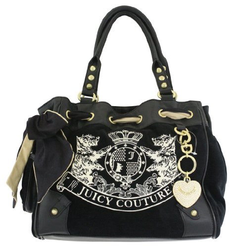 Juicy Couture Scottie Embroidery Daydreamer Shoulder Bag 69