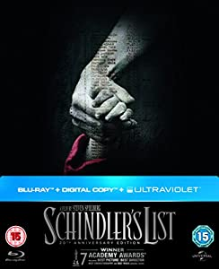 Schindler's List - 20th Anniversary Limited Edition Digibook (Blu-ray + Digital Copy + UV Copy) [1993]
