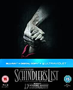 Schindler's List - 20th Anniversary Limited Edition Digibook (Blu-ray + Digital Copy + UV Copy) [1993]