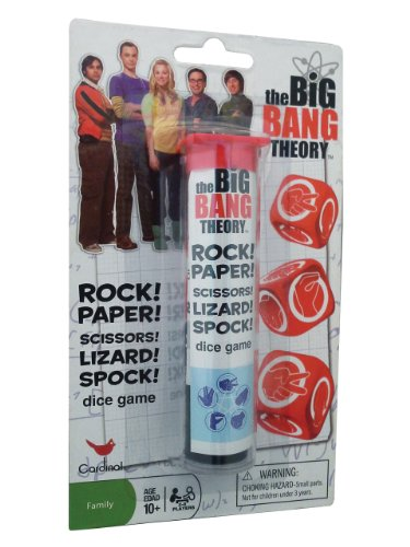 Big Bang Theory Rock Paper Scissors Lizard Spock Game - 1