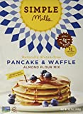 Simple Mills Pancake & Waffle Baking Mix, 10.7 Ounce Boxes (Pack of 3)