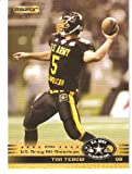 TIM TEBOW ROOKIE CARD - 2010 Razor Army All-American Bowl Glossy Football Cards #124 - Florida Gators - Rookie Card - 2006 Alumni - NFL Trading Card in Screwdown Protective Case