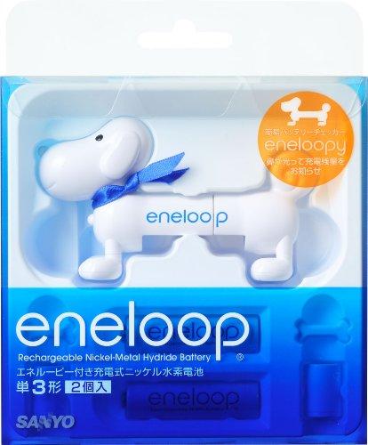 エネループの簡易バッテリチェッカー「エネルーピー(eneloopy)」