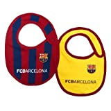 FC Barcelona Authentic La Liga 2 Pack Baby Bibs ST