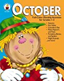 img - for October: Full-Color Monthly Activities for Grades 1-3 book / textbook / text book