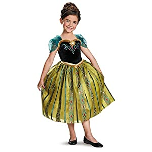 Frozen: Anna Coronation Gown Deluxe Toddler Costume