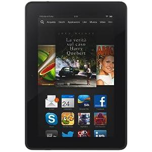 """Kindle Fire HDX 7"""", schermo HDX, Wi-Fi, 16 GB - Con offerte speciali (Generazione precedente - 3ª)"""