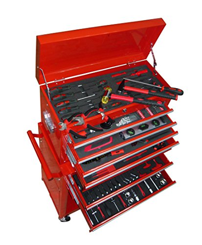 Werkstattwagen-Werkzeugwagen-Gefllt-Werkzeugkiste-ber-250-Werkzeuge
