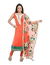 Sareeshut Women's Net Regular Fit Anarkali Suits - B00WQZ2O7E